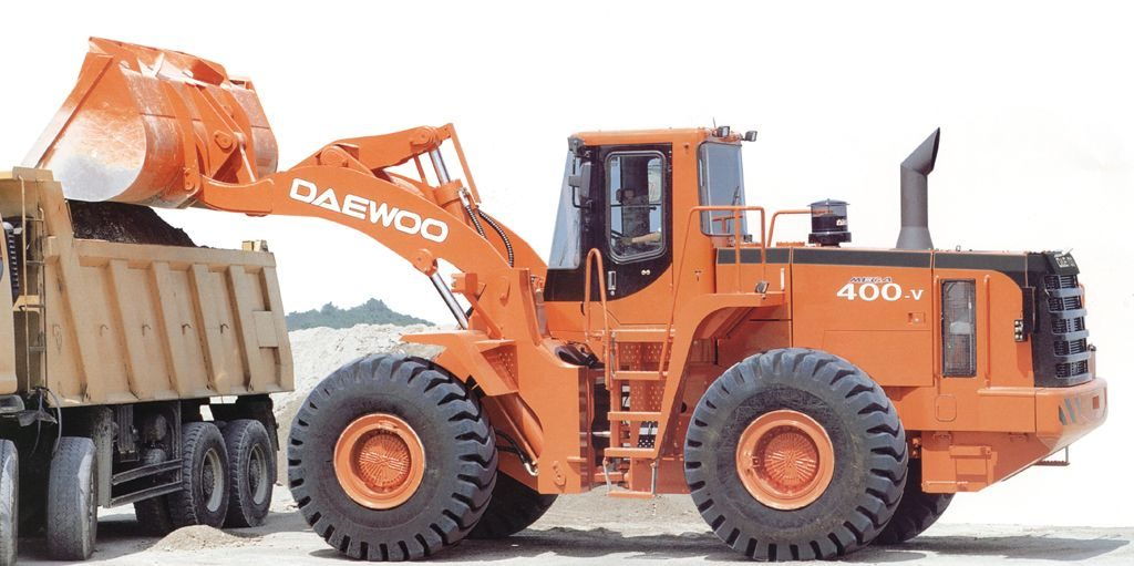DAEWOO MEGA 400-V
