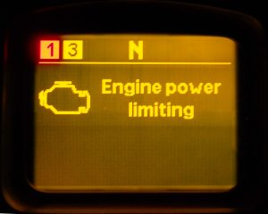 Engine power is limited