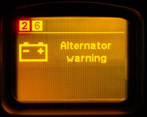 Malfunction of the generator / no charging or recharging (with a faulty voltage regulator-chocolate) or undercharging.