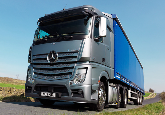 Mercedes-Benz Actros Service Repair Manuals PDF