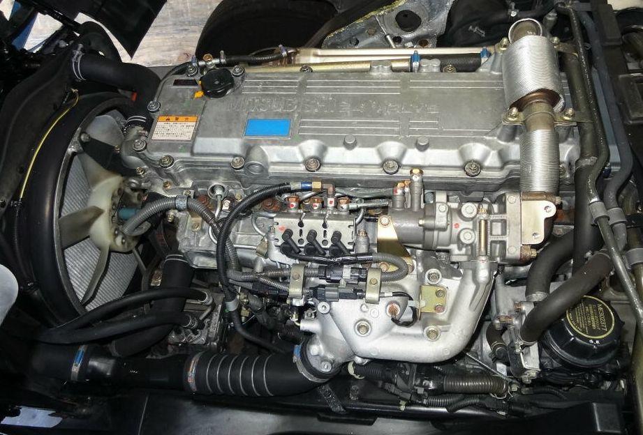 Mitsubishi Forklift 6M60 Diesel Engine Fault Codes